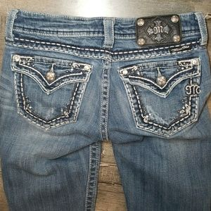 MISS ME BOOT JY5377B  WOMENS  JEANS SIZE 27